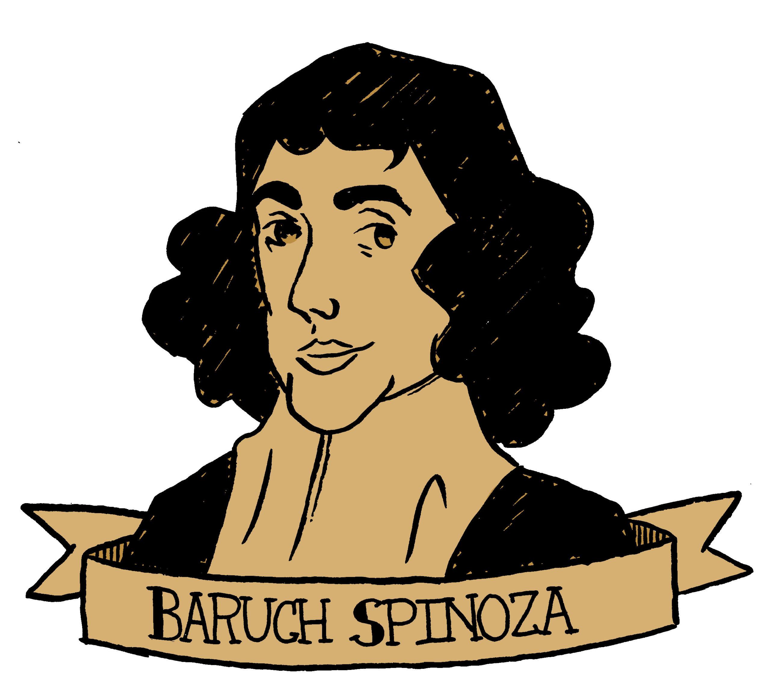 Spinoza tekening