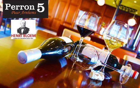 Wijnproeverij perron 5