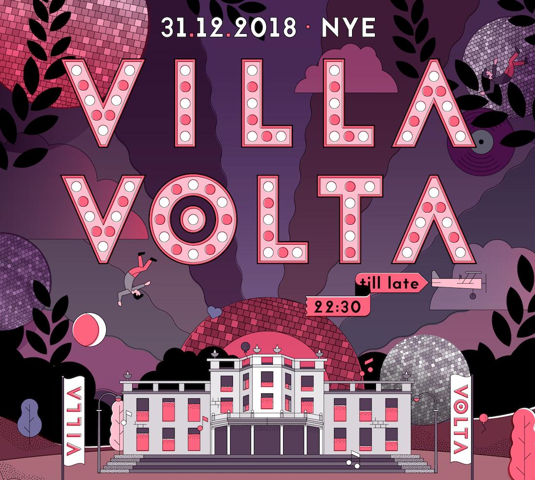 NYE Villa Volta