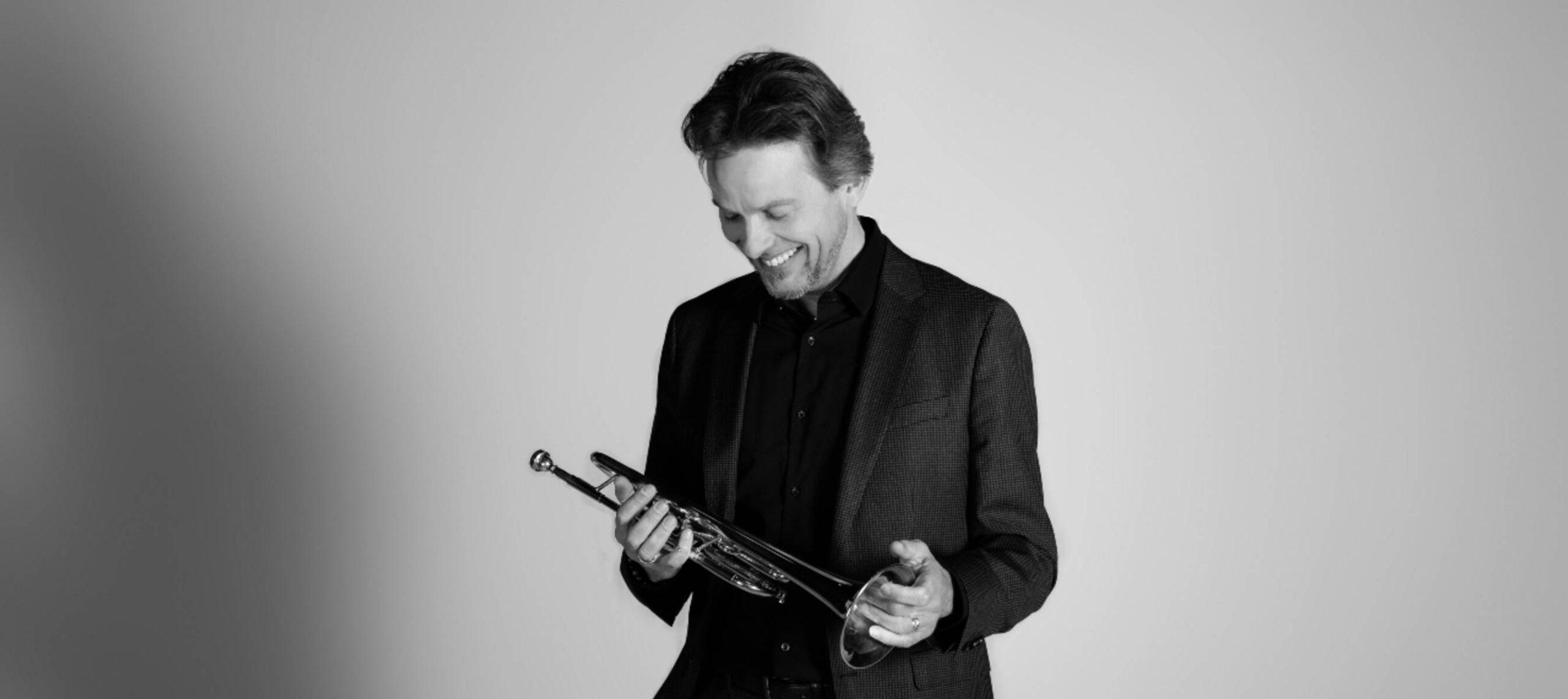 Trompettist Ido Jan Stalman, solist in Hummels